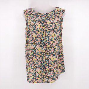 MaxMara Weekend Floral Print Sleeveless Top